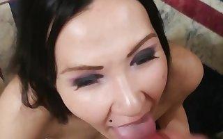 vlada sucks her boyfriend dick